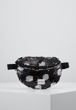 BUM BAG - Ledvinka - black