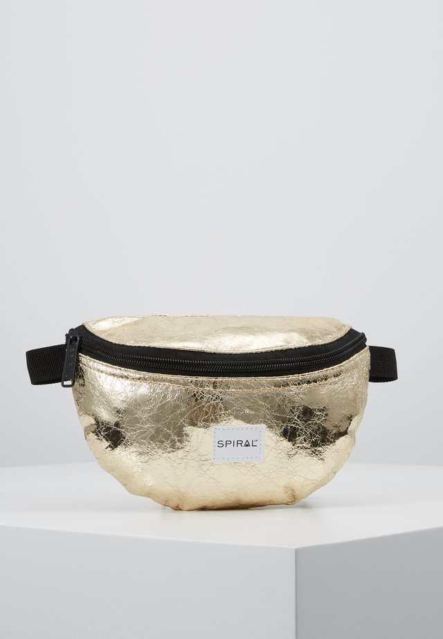 BUM BAG - Ledvinka - golden glaze