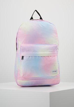 Rucksack - tie dye rainbow cloud