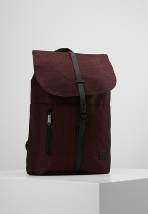 TRIBECA - Batoh - crosshatch burgundy