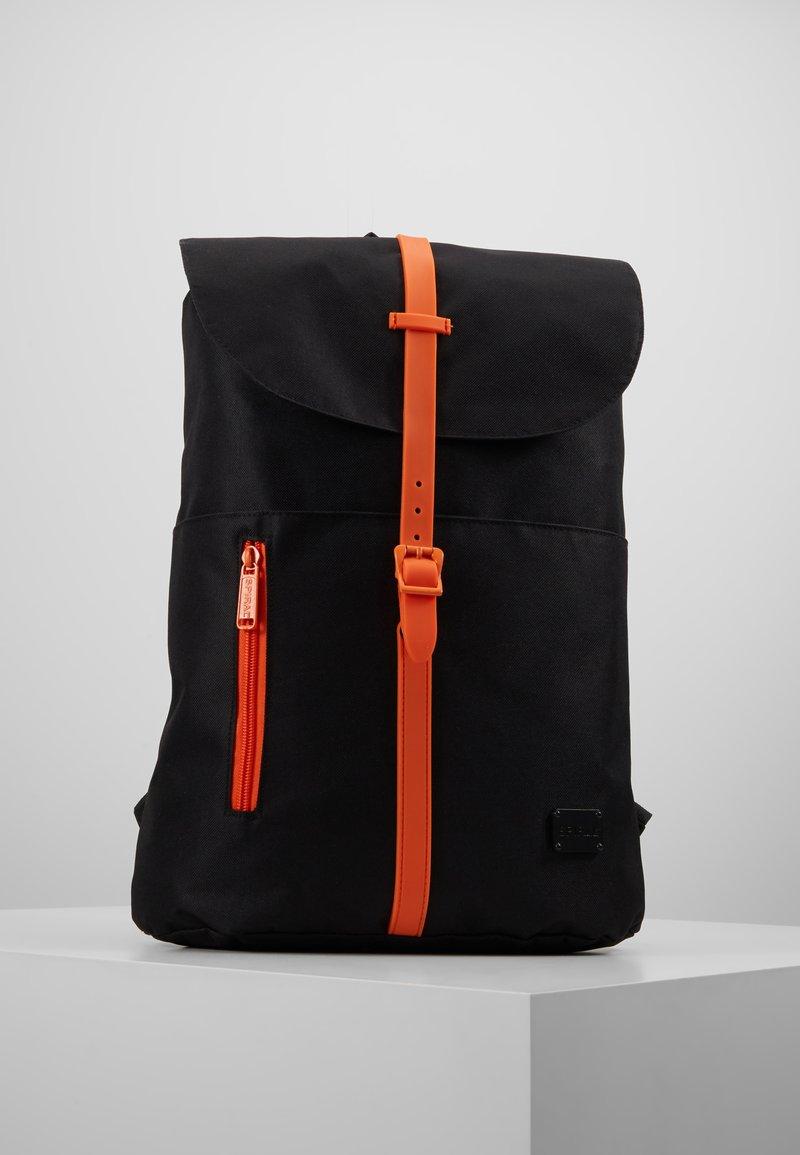Spiral Bags - TRIBECA - Rucksack - black/orange