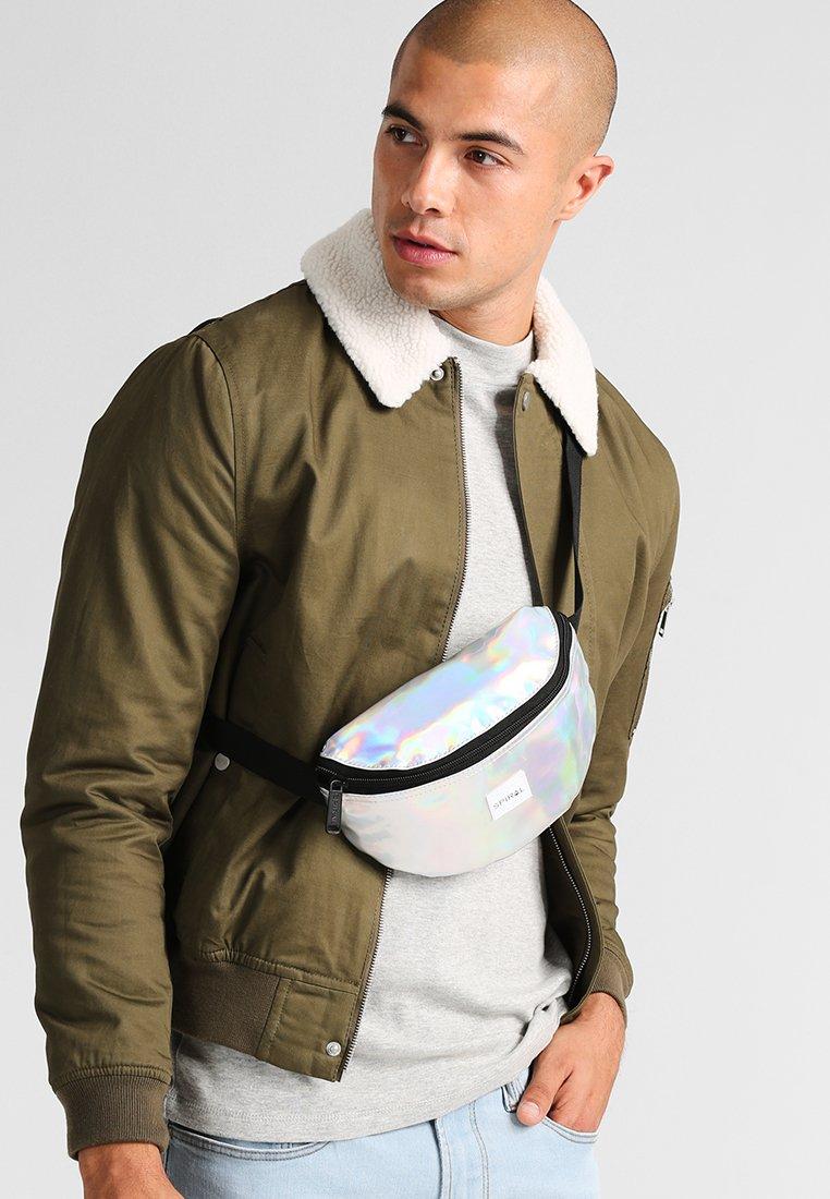 Spiral Bags - HARVARD - Bum bag - silver rave