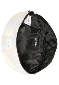 Spiral Bags - HARVARD - Ledvinka - silver rave - 5