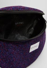 Spiral Bags - PLATINUM BUM BAG - Ledvinka - violet - 4
