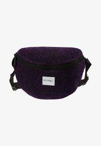 Spiral Bags - PLATINUM BUM BAG - Ledvinka - violet - 6
