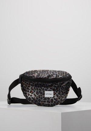 PLATINUM BUM BAG - Bum bag - transparent safari