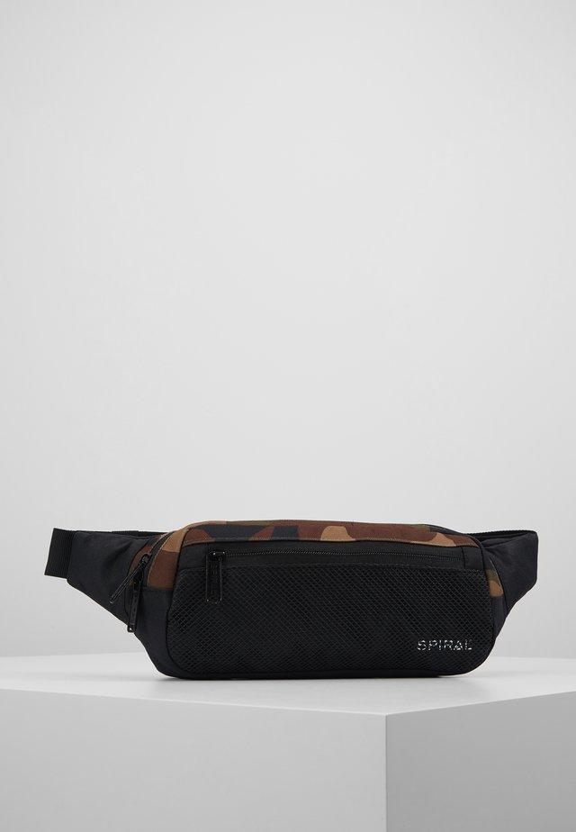 CROSSBODY - Bum bag - woodland camo