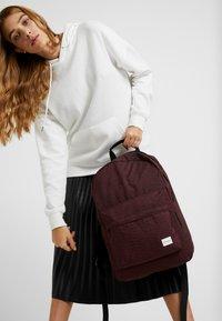 Spiral Bags - Rucksack - chevron burgundy - 1
