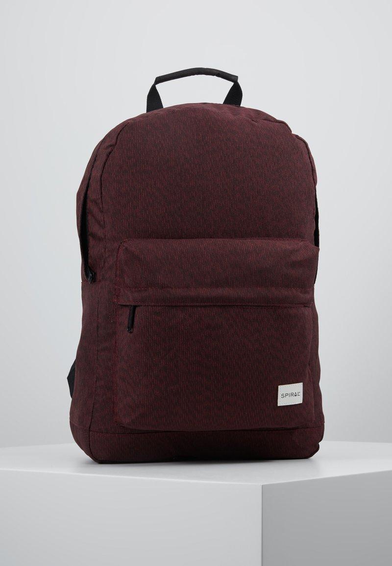 Spiral Bags - Rucksack - chevron burgundy