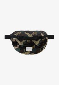Spiral Bags - BUM BAG - Rumpetaske - paradise birds /black - 6