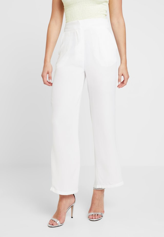 ELSA - Trousers - white