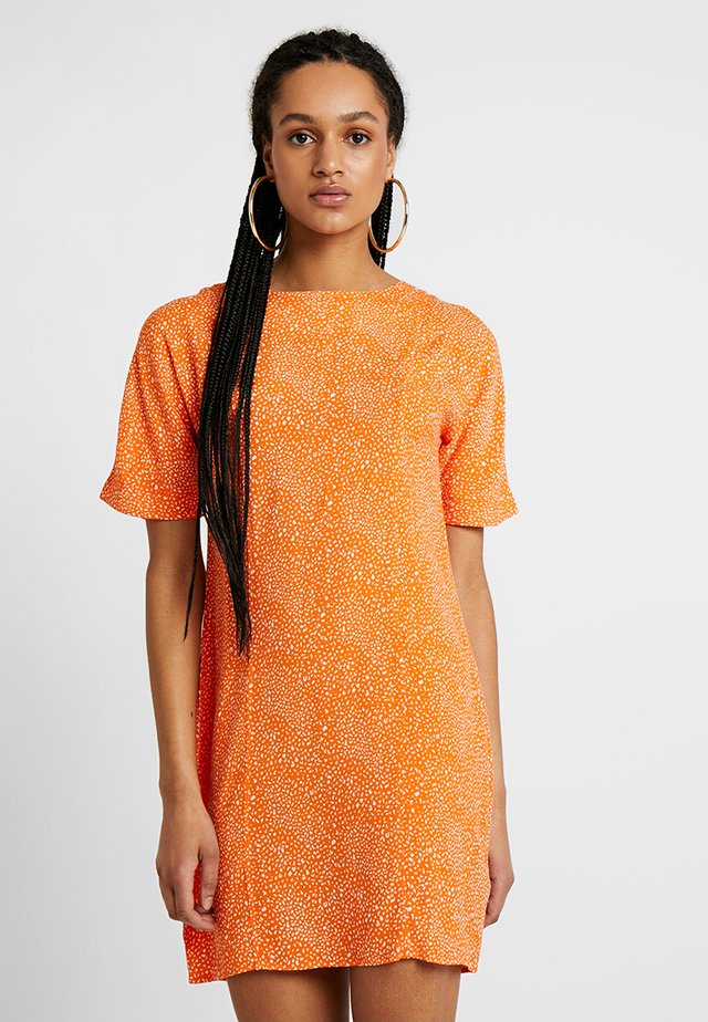 MISS - Day dress - orange