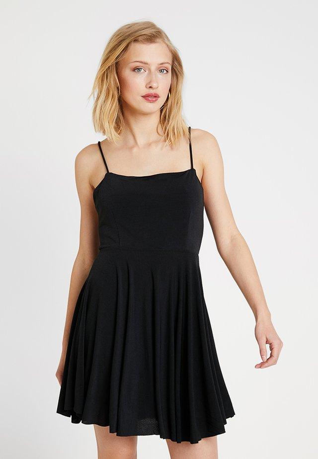 ANNIE NEW - Jerseyklänning - black