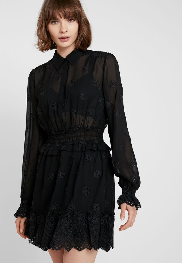 ESTELLE - Skjortklänning - black