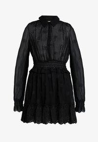 Bik Bok - ESTELLE - Skjortklänning - black - 4