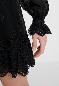 Bik Bok - ESTELLE - Skjortklänning - black - 5