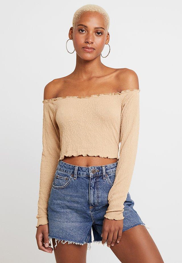 CHANIA - Långärmad tröja - brown