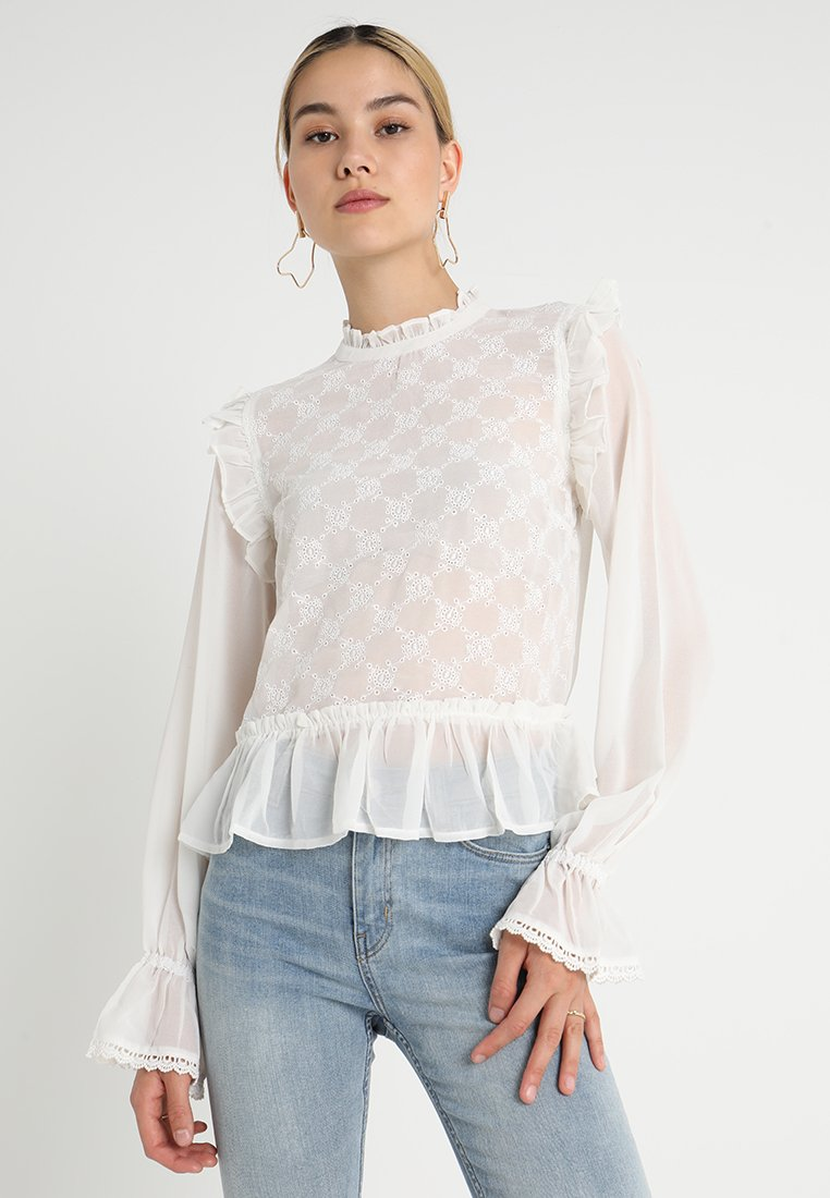 Bik Bok - PEPPA - Bluse - white