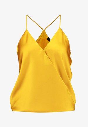 SHINY - Top - yellow