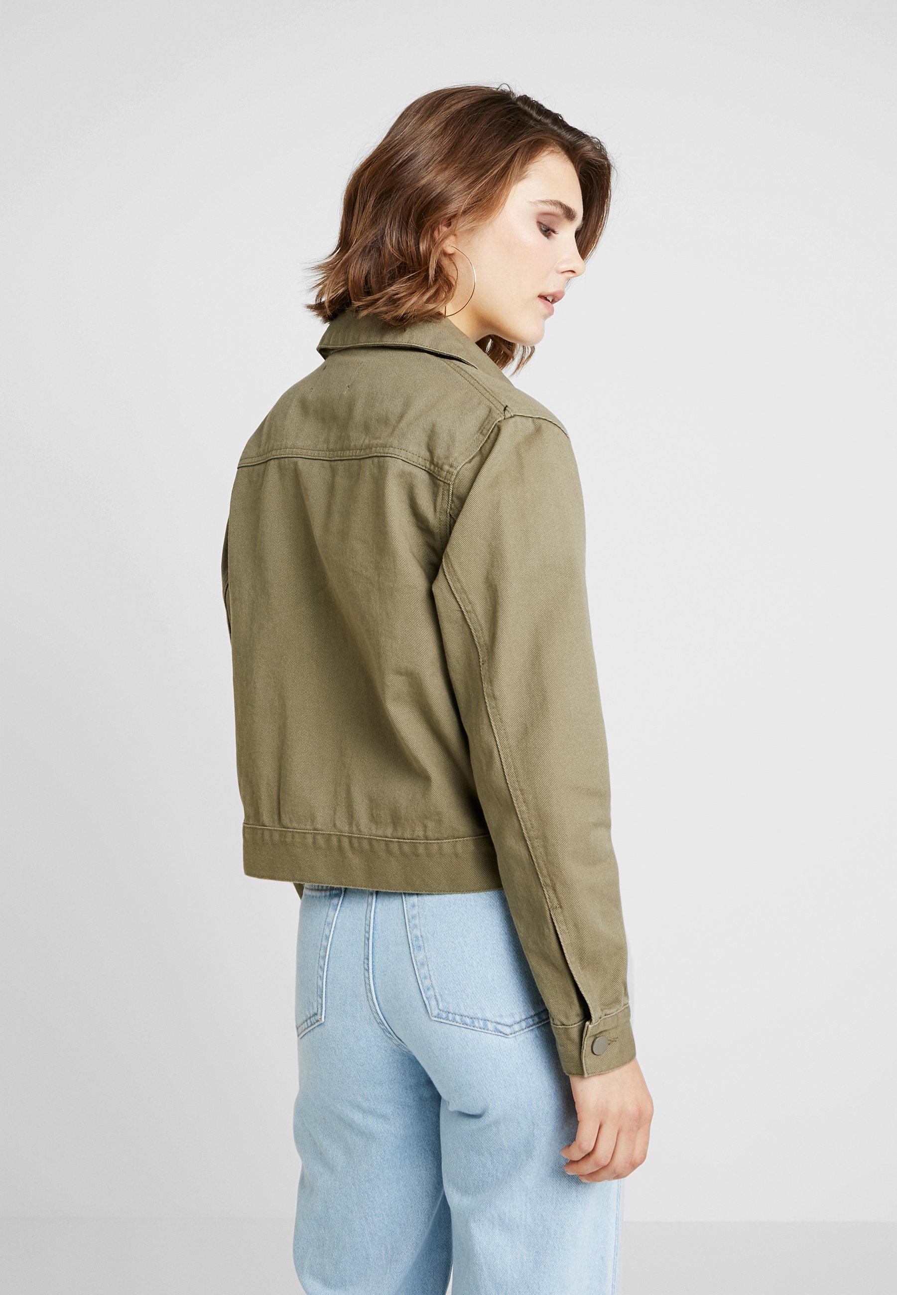 Bik Bok TAMPA - Veste en jean green