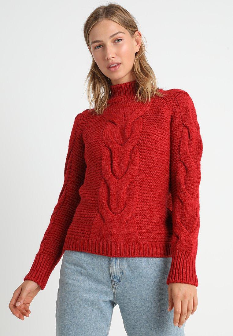Bik Bok - LUCY - Pullover - dark red