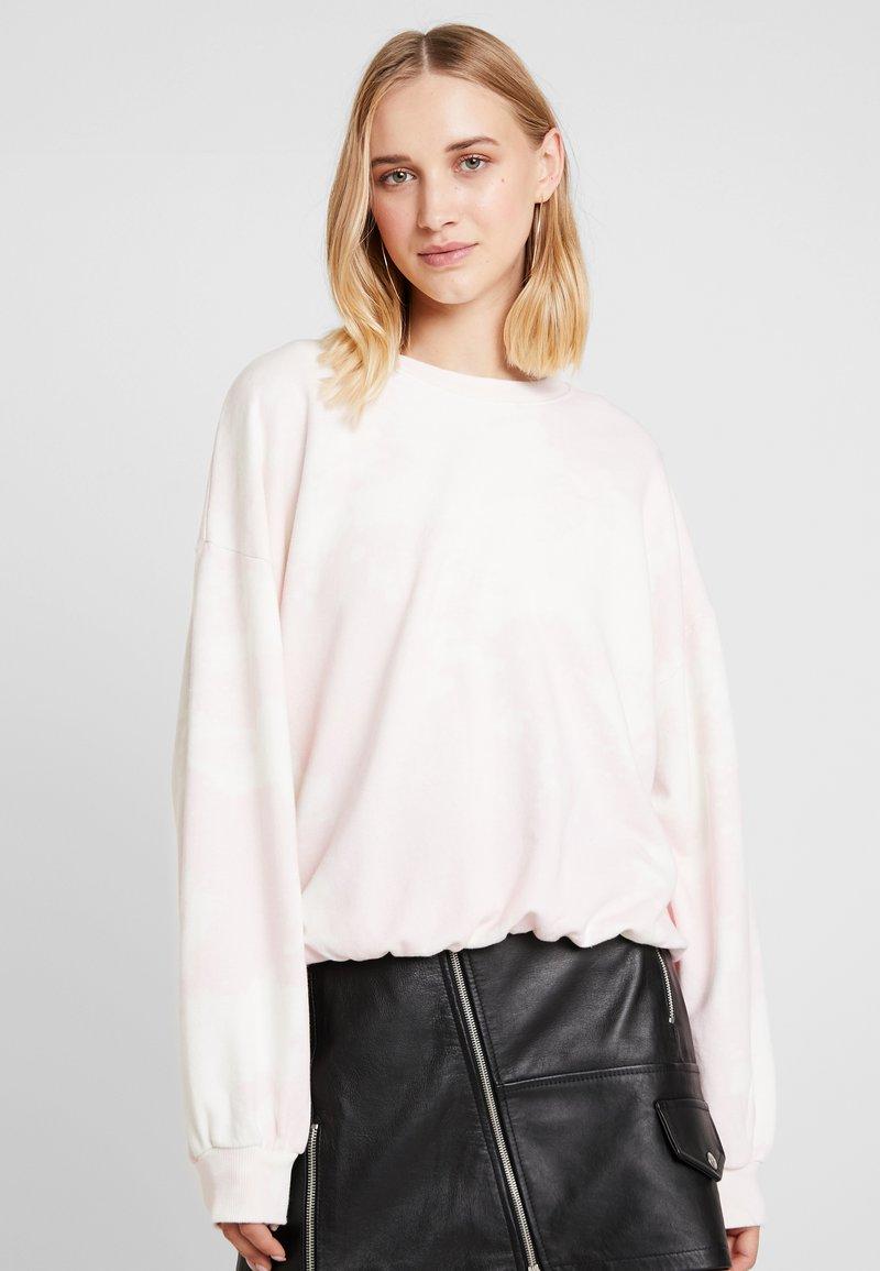 Bik Bok - SKATE - Sweatshirt - white/pink