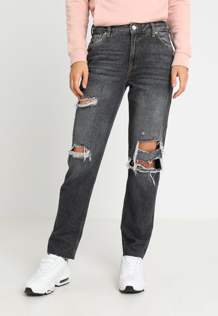 Bik Bok - NEVER PIPER TAPE - Relaxed fit jeans - denim/as sample