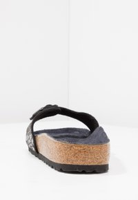 Birkenstock - MADRID - Sandalias planas - metallic stones/black - 5