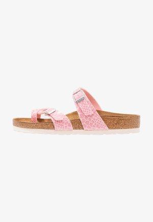 MAYARI - T-bar sandals - rose