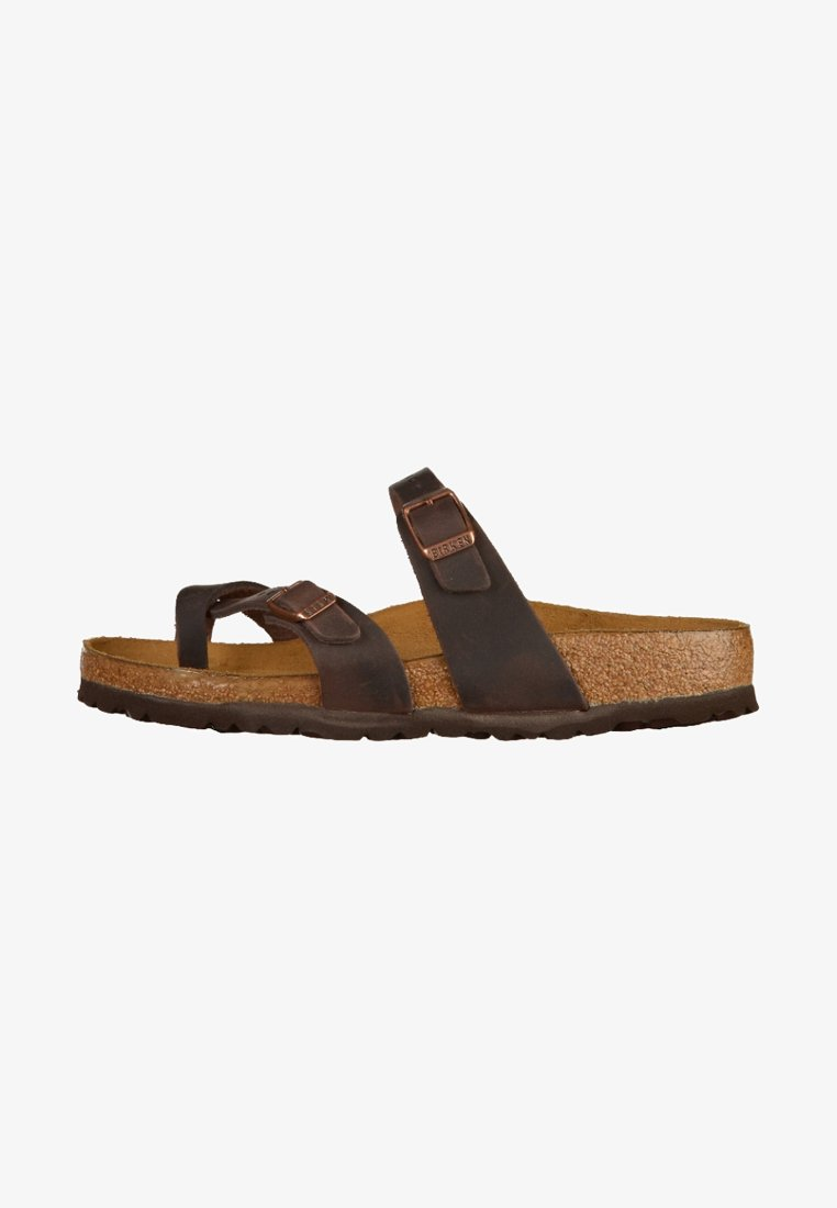 Birkenstock - Pantolette flach - brown
