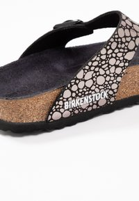 Birkenstock - GIZEH - T-bar sandals - metallic stones black - 2