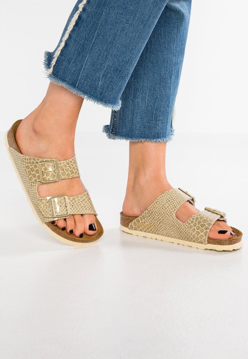 Birkenstock - ARIZONA - Mules - magic gold