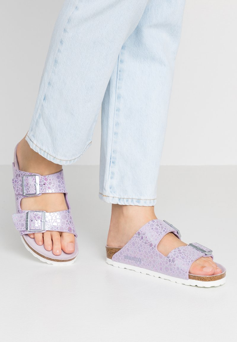 Birkenstock - ARIZONA - Slippers - metallic lilac