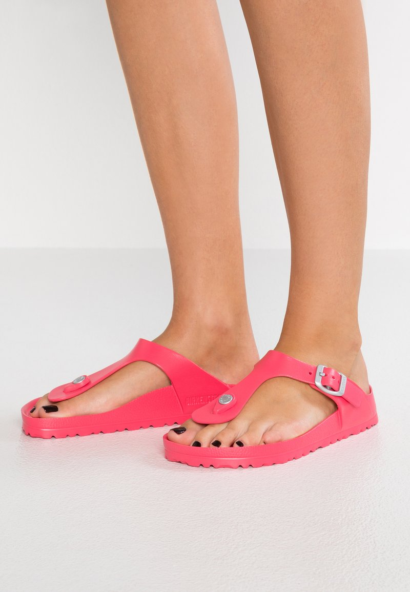 Birkenstock - GIZEH - Pool shoes - coral