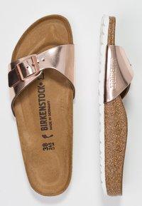 Birkenstock - MADRID - Pantoffels - metallic copper - 3