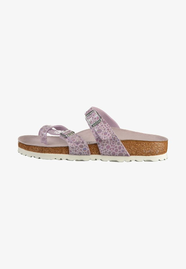 MAYARI - Sandals - metallic stones lilac