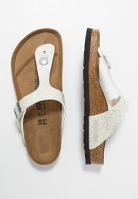 Birkenstock - GIZEH - T-bar sandals - cosmic sparkle white - 1