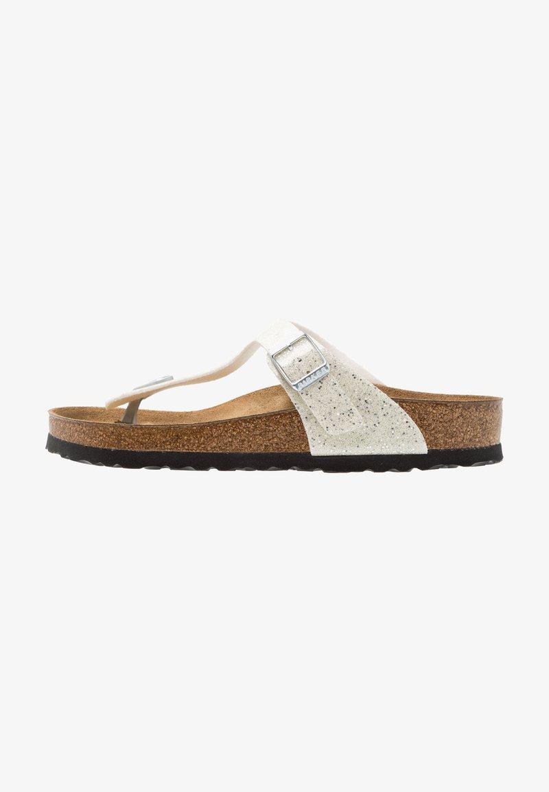 Birkenstock - GIZEH - T-bar sandals - cosmic sparkle white