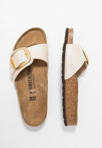 Birkenstock - MADRID - Pantolette flach - graceful pearl white - 1