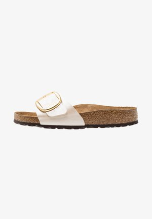 MADRID - Sandalias planas - graceful pearl white