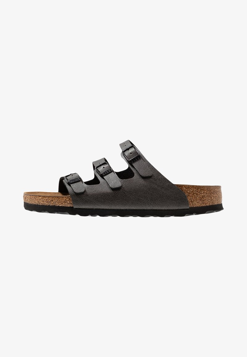 Up FloridaChaussons Anthracite Birkenstock Pull Birkenstock A4L5jR