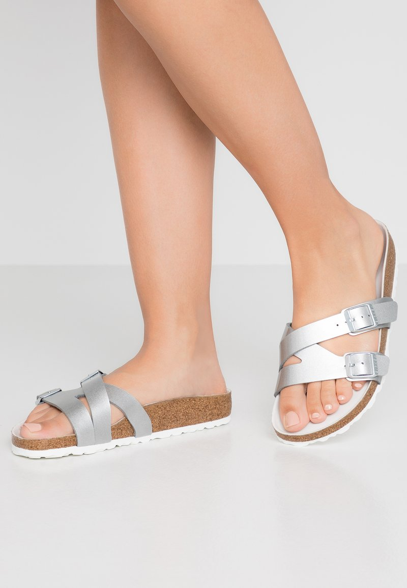 Birkenstock - YAO BALANCE  - Slippers - metallic silver