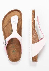 Birkenstock - GIZEH - T-bar sandals - brushed rose - 3
