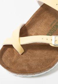 Birkenstock - MAYARI  - T-bar sandals - brushed vanilla - 2