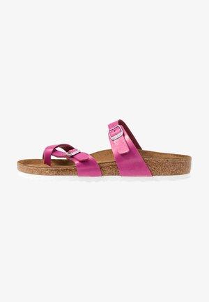 MAYARI - T-bar sandals - graceful magenta haze