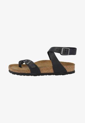 YARA - Ankle cuff sandals - black