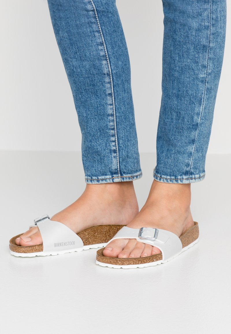 Birkenstock - MADRID  - Pantuflas - pearly white