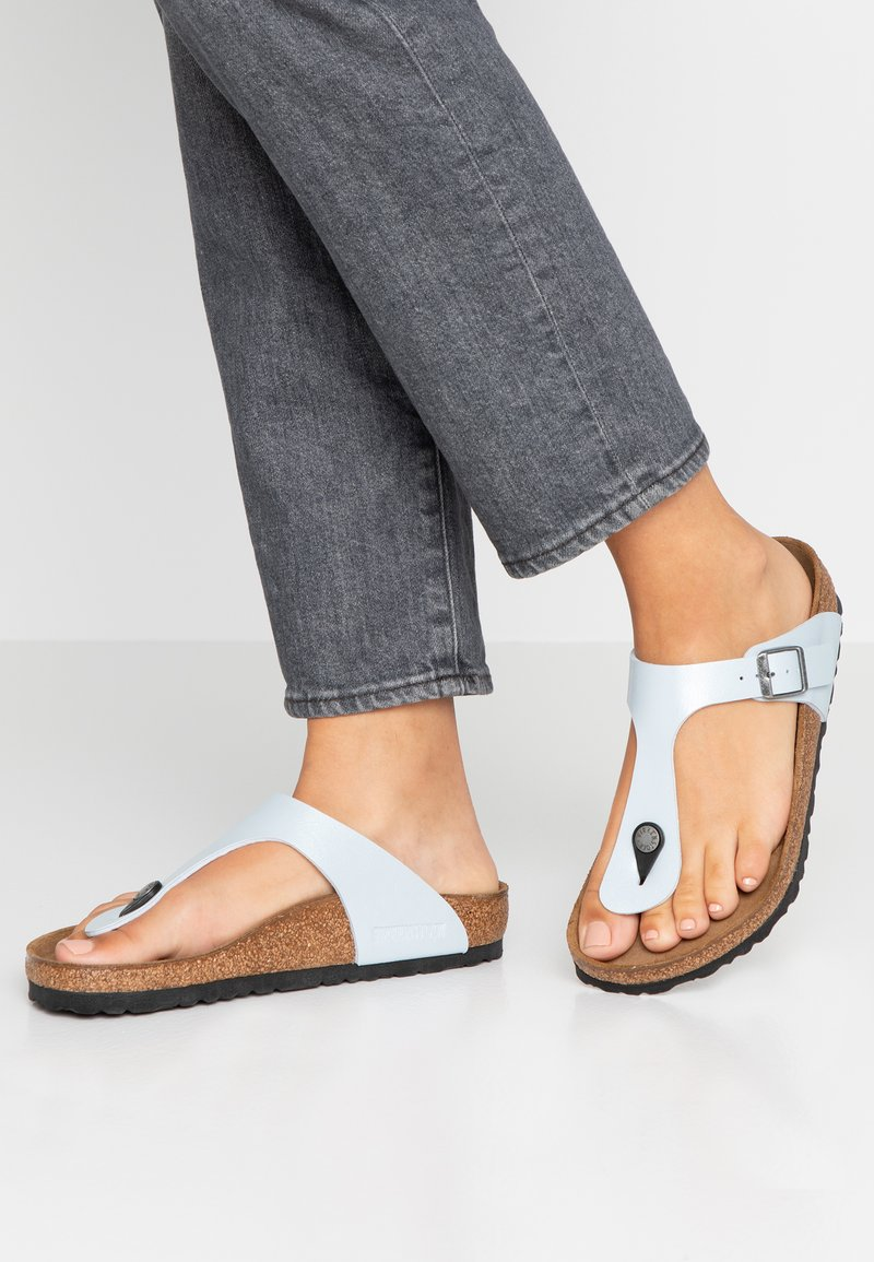 Birkenstock - GIZEH - T-bar sandals - graceful baby blue