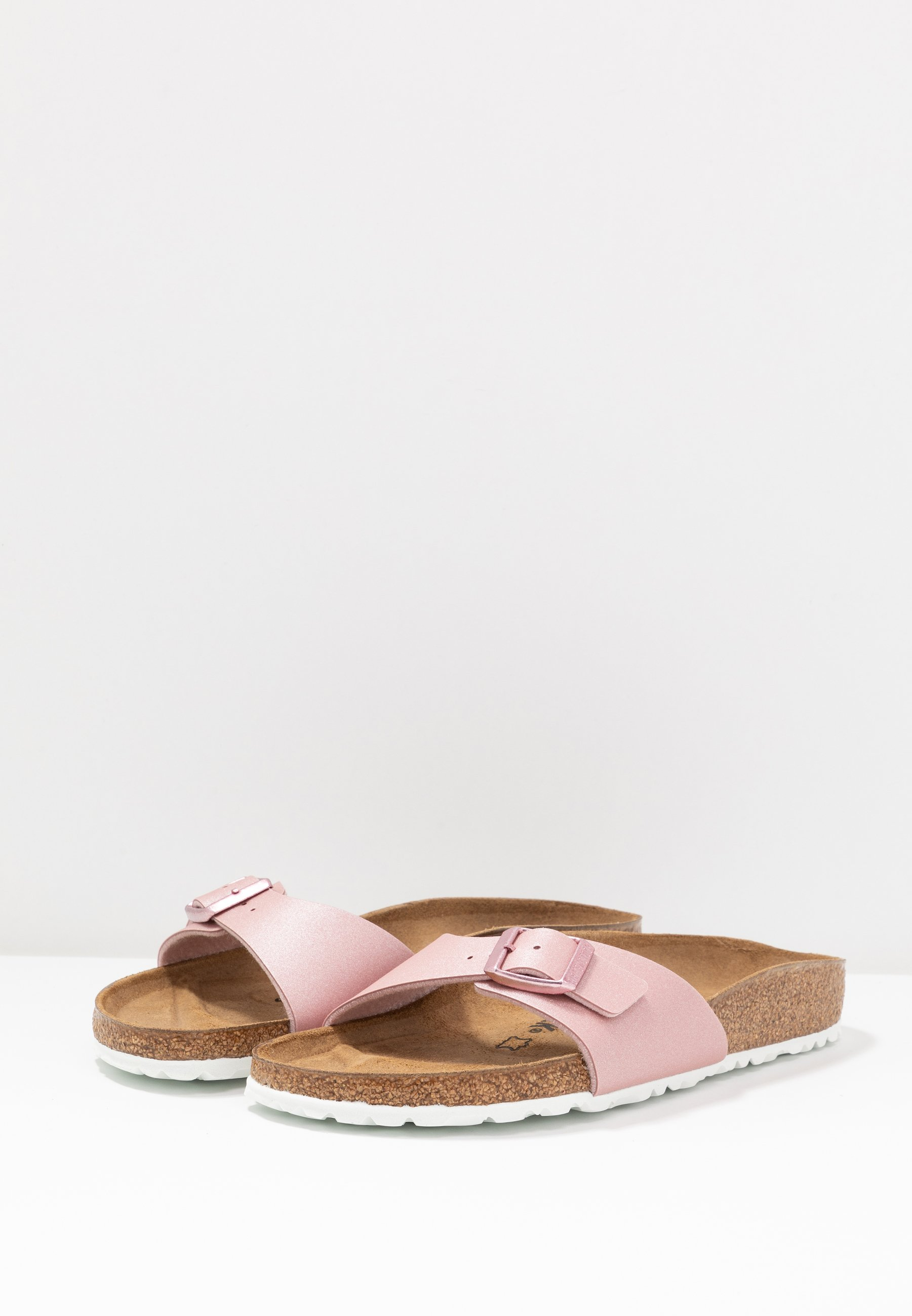 Birkenstock Madrid - Tofflor & Inneskor Icy Metallic/old Rose