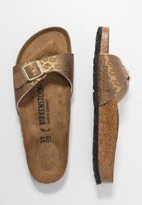 Birkenstock - MADRID - Slippers - gold - 3